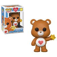 "New Pop Animation: Care Bears - Tenderheart Bear 3.75"" Funko Vinyl VAULTED"