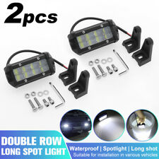 2Pcs 20W LED Work Spot Light Bar Flood Fog Driving Lamp Car Truck Offroad SUV 4""