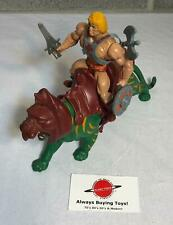 1982 He-Man & Battle Cat Complete Vintage Original MOTU Figure