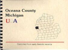 MI Oceana County Michigan reprint of 1890 history & biographies Hart, Pentwater
