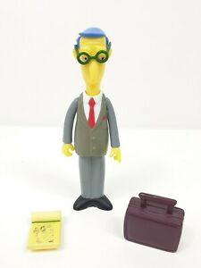 World of Springfield WOS Simpsons Playmates Figure BLUE HAIRED LAWYER