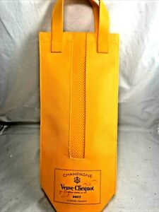 VEUVE CLICQUOT Champagne INSULATED Bottle Travel BAG Carry Case