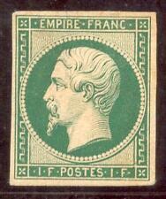 FRANKREICH 1853 17 Essay 1 Franc grün (F9235b
