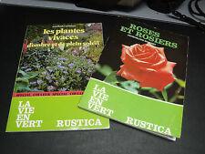 2 Livres de Plantes-Rustica-1989