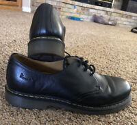 Dr.Martens Un3EYE GIBSON shoes Black leather 1461 Size US 13 Men's