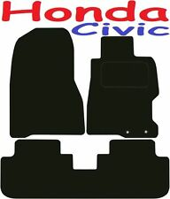 Honda Civic 3dr DELUXE QUALITY Tailored mats 2001 2002 2003 2004 2005 2006