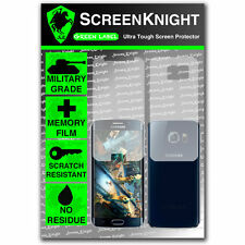 ScreenKnight Samsung Galaxy S6 Edge FULL BODY SCREEN PROTECTOR - Curved Fit