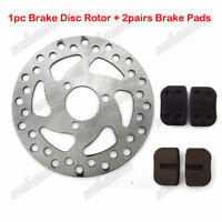 Pocket Bike 120mm Brake Caliper Disc Rotor Pads 47cc 49cc Scooter Mini Dirt ATV