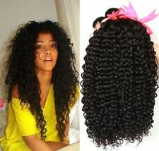 8A Brazilian Kinky Curly Human Hair Extensions Virgin Hair Weave 3 Bundles  300g 25affa12e
