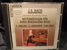 J.S. Bach-notes Carnet pour Anna Magdalena Bach-Ameling/Leonhardt/p.a. Linde