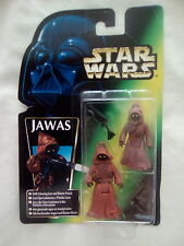 NEW1997 Star WarsThe Power Of The Force Green Card Trilogo Jawas