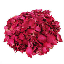 RED ROSE PETAL 100g Dried Wedding Tea-No Added DYES-Certified Organic Healthy