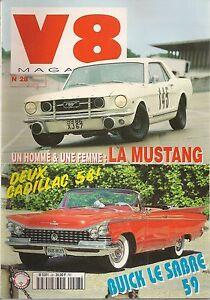 V8 MAGAZINE 28 AUBURN TWELVE CADILLAC SERIE 62 1958 CAMARO Z28 1973 MUSTANG 1966