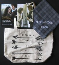 STARZ OUTLANDER PROMOTIONAL COMIC CON PACKAGE PROMO