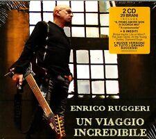 RUGGERI ENRICO UN VIAGGIO INCREDIBILE (SANREMO 20) DOPPIO CD NUOVO E SIGILLATO