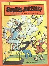 *Buntes Allerlei* Nummer 1, 1. Jahrgang 1953, Sammlerausgabe Hethke TOP!