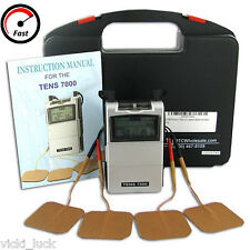 Tens Unit Electric Massage Machine Pulse Muscle Stimulator Pain Relief Therapy