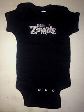 ROB ZOMBIE BABY ONE PIECE LICENSED  ROCK METAL  T-SHIRT NEW white zombie