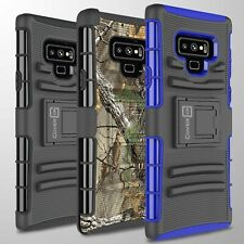 Protective Hard Phone Case Cover & Belt Clip Holster for Samsung Galaxy Note 9
