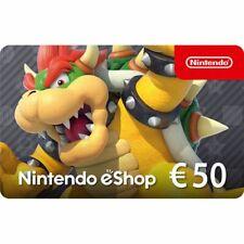 50€ Nintendo eShop Card