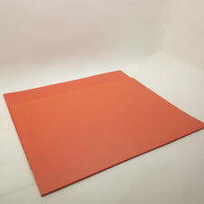 1 PCS orange color Laser Rubber Sheet 297 x210 x2.3mm A4 Size for laser Engraver