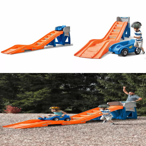 Kids Roller Coaster Safety Toy Ride On Hot Wheels Extreme Thrill High Back Seat