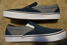 Vans Blue Slip On Classic Suede Men's Size 10 - WORN ONCE