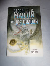 The Ice Dragon by George R. R. Martin SIGNED 2014 HCDJ A Game of Thrones