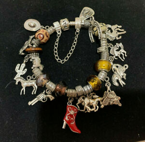 Pandora inspired charms Bracelets WESTERN