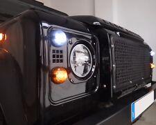 LED BLINKER SET SCHWARZ LAND ROVER DEFENDER TD4 TD5 VORNE und HINTEN 4 STÜCK
