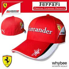 ! oferta! Sebastian Vettel Cap 2015 Scuderia Ferrari Gran Premio de Fórmula Uno Equipo F1