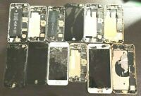 Lot of 12 iPhones Mix Model Salvage For Parts or Refurbishing Please Read