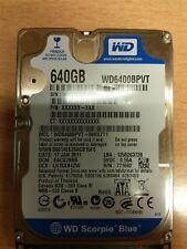 "Hard Disk 2.5"" SATA WD WD6400BPVT 80hxzt1 WD Scorpio Blue 640GB"