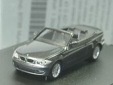 Herpa BMW 1er Cabrio E88 graphit met., dealer model - 041 - 1:87