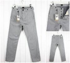 Vaqueros de hombre en color principal gris 100% algodón