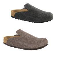 Birkenstock Davos Felt Wool Mules Slip On Slippers Sandals Clogs Slides Ladies