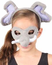 Elephant Headband And Mask Set One Size