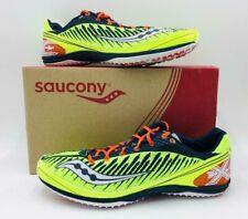 Saucony Men's Kilkenny XC5 Flat S29005-4 Running Shoes Citron/Navy/Red