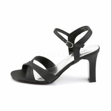 Velcro Synthetic Strappy Heels for Women