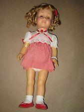 Vintage Soft Face Chatty Cathy Blond Curly Hair~Blue Eyes~Pigtails~Freckles 1