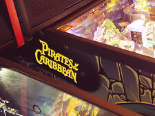 Pirates of the Caribbean Stern Pinball Lighted Magnetic Hinge Covers MOD-Yellow