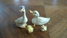 Vintage Hagen Renaker lot ducks geese goose figurine ceramic miniature animal