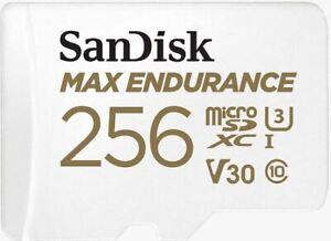 32/64/128/256gb MAX Endurance Video Monitoring Dash Cam Micro SDXC Memory Card
