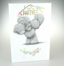 FOR MY PARTNER....WITH LOVE. Me to You Card; Anniversary, Birthday Any Occasion.