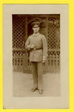 cpa Carte Photo MILITAIRE SOLDAT Allemand GUERRE 14-18 WAR FRENCH 1917