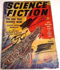 Science Fiction – US pulp – August 1939 - Vol.1 No.3 - Repp, Gallun, Hamilton