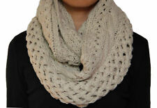 NEW Shiraleah Innis Snood Cable Knit Blush Infinity Scarf