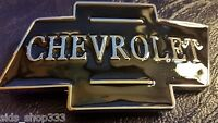 Black chrome Color Classic CHEVROLET logo metal Belt Buckle gift CHEVY RACING