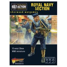 28mm Warlord British Royal Navy Landing Section, BNIB WWII Bolt Action,