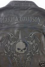 Harley Davidson Men's Reflective Blade Swithchback Leather Jacket S 97071-09VM